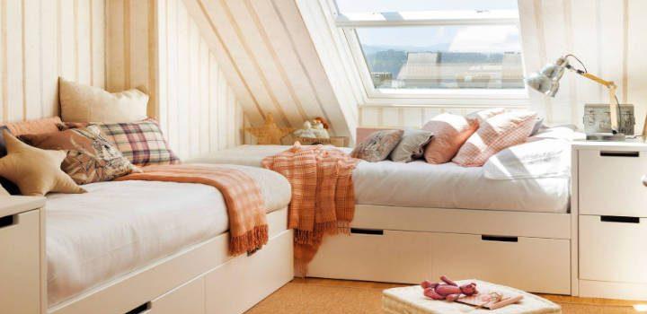 Pequeños dormitorios