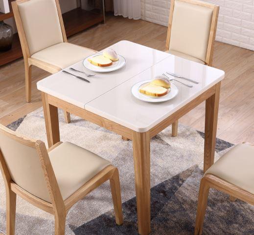 mesas de comedor pequeñas cuadradas